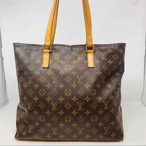 Authentic Louis Vuitton Cabas Mezzo